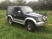 *** Mitsubishi Pajero 2.8 turbo swap px car van ***