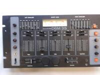DJ MIXER --twin equilzer--Built in Echo Fx Units