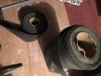 Damp proof course rolls and wall ties