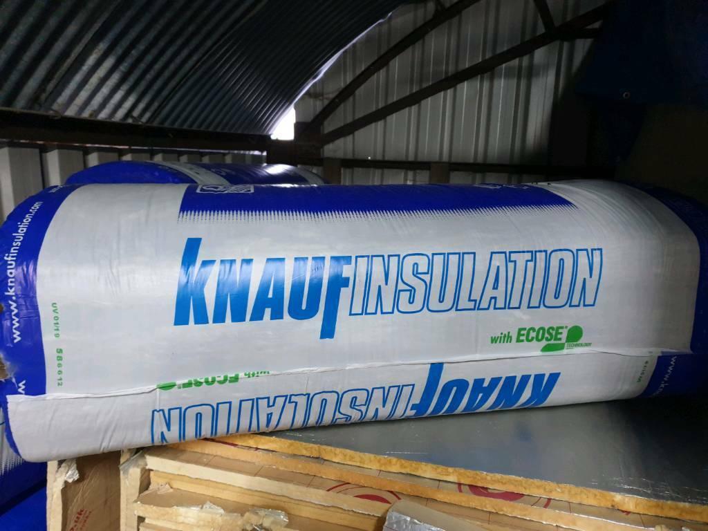 Knauf 100mm 37 acoustic slabs, sound insulation 6sqm per pack | in Cobham,  Surrey | Gumtree