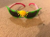 Foldable kid sun glass