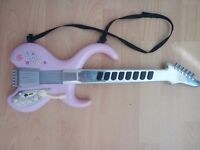 Kids Pink Electric Guitar - Good Condition