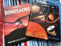 Dinosaur & Space books
