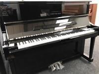 BRAND NEW Steinhoven Upright Piano SU121 Black 5 YEAR WARRANTY EX DISPLAY MODEL Same size as U1