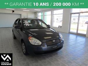 2008 Hyundai Accent GL AUTOMATIQUE