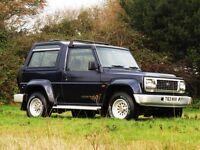 1999 Daihatsu Fourtrak TDX 4x4, Diesel, 7 seat - New MOT / New Cam Belt / SE leather interior