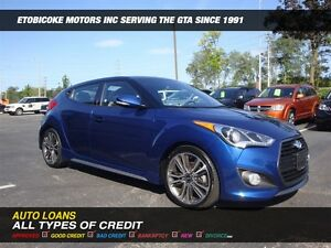 2016 Hyundai Veloster TURBO / NAVIGATION / PANORAMIC ROOF