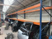72ft Pallet racking 6 x 12 ft bays / garage shelving