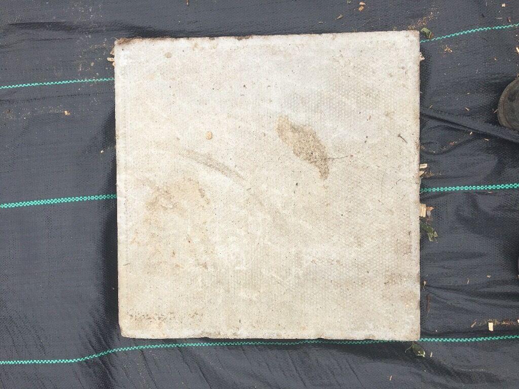 Concrete paving slabs 450x450, grey colour