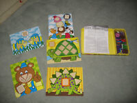 Melissa & Doug - Big Button Number Game Teaches Counting Colour Shapes