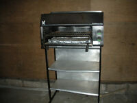 Falcon Salamander Grill and stand