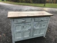 Lovely rustic shabby chic sideboard unit