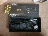 Genuine black GHD straighteners