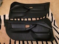 BMW Z3 Black Classic Leather Door Cards (pair)
