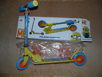 Kids Despicable me scooter (Minions)