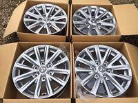 "BRAND NEW 17"" Genuine 2017 Mitsubishi L200 alloy wheels Shogun Barbarian Titan Intense CAN POST"