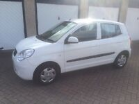 2010 1.0 Kia Picanto 1 years mot lowest insurance group £30 a year road tax
