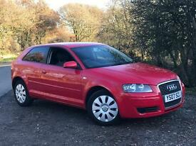 2007 AUDI A3 1.6 SE WITH FULL SERVICE HISTORY MOT OCT 17