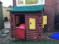 Children's Little Tikes Log Cabin