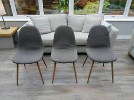 3 x chairs by Maisons du Monde