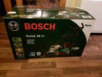 Bosch Rotak 36 Li lawnmower
