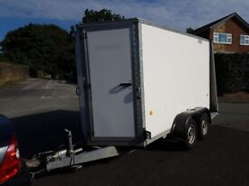 Ifor Williams BV105G Twin Axle Box Trailer - 2 Owners - Immaculate Condition