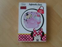 DISNEY MINNIE MOUSE INFLATABLE CHAIR age 36 months