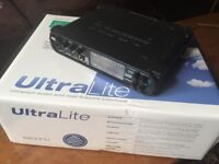 Boxed MOTU Ultralite Mk1 Firewire Audio Interface w/ rack mount kit and spare chassis