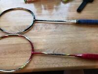Yonex/victor badminton racket