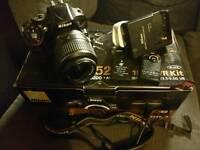 Nikon D5200 dslr camera.