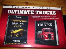 ULTIMATE TRUCKS. DVD AND BOOK