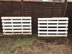 Two free pallets