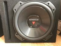 Kenwood KFC-W3016PS 12-Inch 2000W Subwoofer in ported box