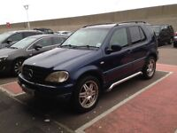Mercedes ml 320 7 seater automatic
