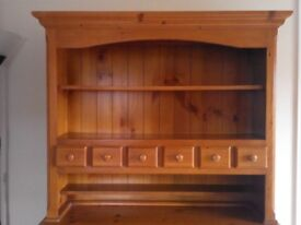 Beautiful solid pine dresser top only.