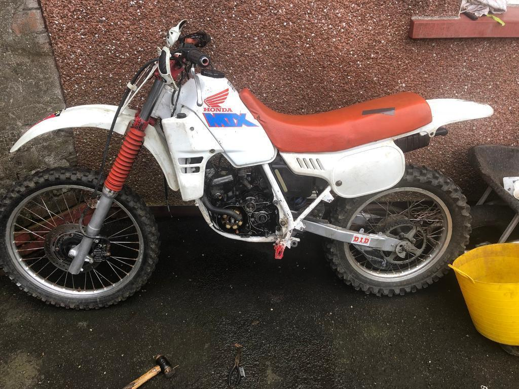 honda mtx 125 in east end glasgow gumtree. Black Bedroom Furniture Sets. Home Design Ideas