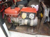 Petrol Generator 110v 240v Duel Voltage Honda Engine 3.5 Kva Gwo