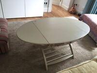 REDUCED BARGIN!!! Neutral drop leaf coffee table