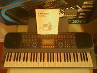 Casio Electronic Keyboard, in box with manual.