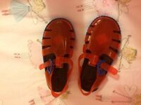 Brand new jelly shoes size 7