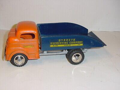 Vintage Structo No. 605 Dump Truck W/Original Box!