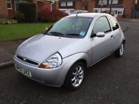 FORD KA 1.3 ZETEC CLIMATE VERY LOW MILEAGE 2008 REGISTERED