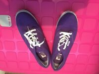 Purple Genuine Vans