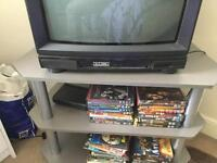 Free silver tv stand