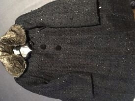 Beautiful blue sparkle jacket age 7/8 from Monsoon
