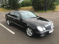 Mercedes E220 CDi, 2008 (58) Avantgarde, Auto, Mint Condition, Genuine Low Miles 63,000
