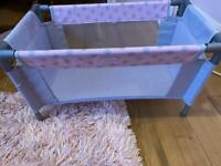 Doll travel cot