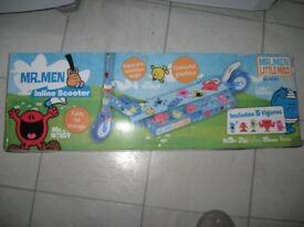 mr men scooter new in box