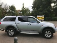 Mitsubishi L200 WARRIOR Di-d d/c 2007 12 months Mot,3 keys, fsh,p-ex any car,aa/rac welcome