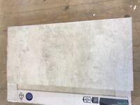 Grey wall & floor tiles. £6 per box